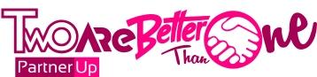 TWOAREBETTERTHANONE Logo