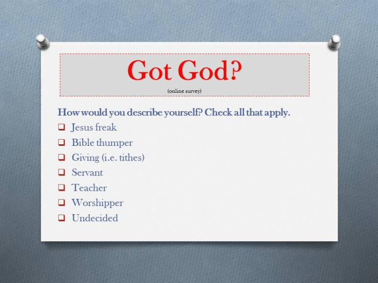 Got God